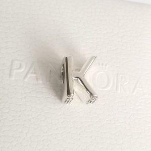 Pandora Letter K Charm Alphabet Silver 925 Ale